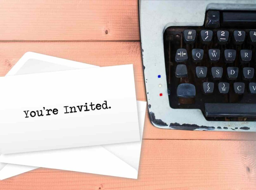 【オンライン結婚式】招待状に書いておきたいポイント4つ