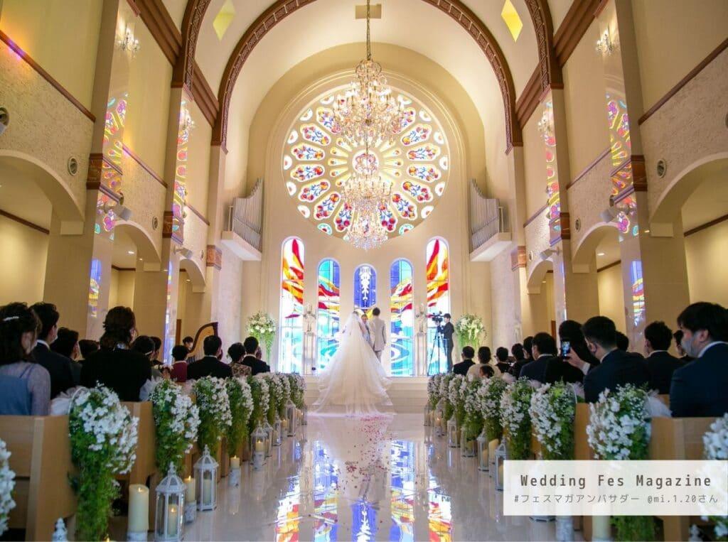 2020年12月にザ・ロイヤルクラシック福岡で結婚式を挙げたmi.1.20さんの結婚式準備、結婚式当日レポート