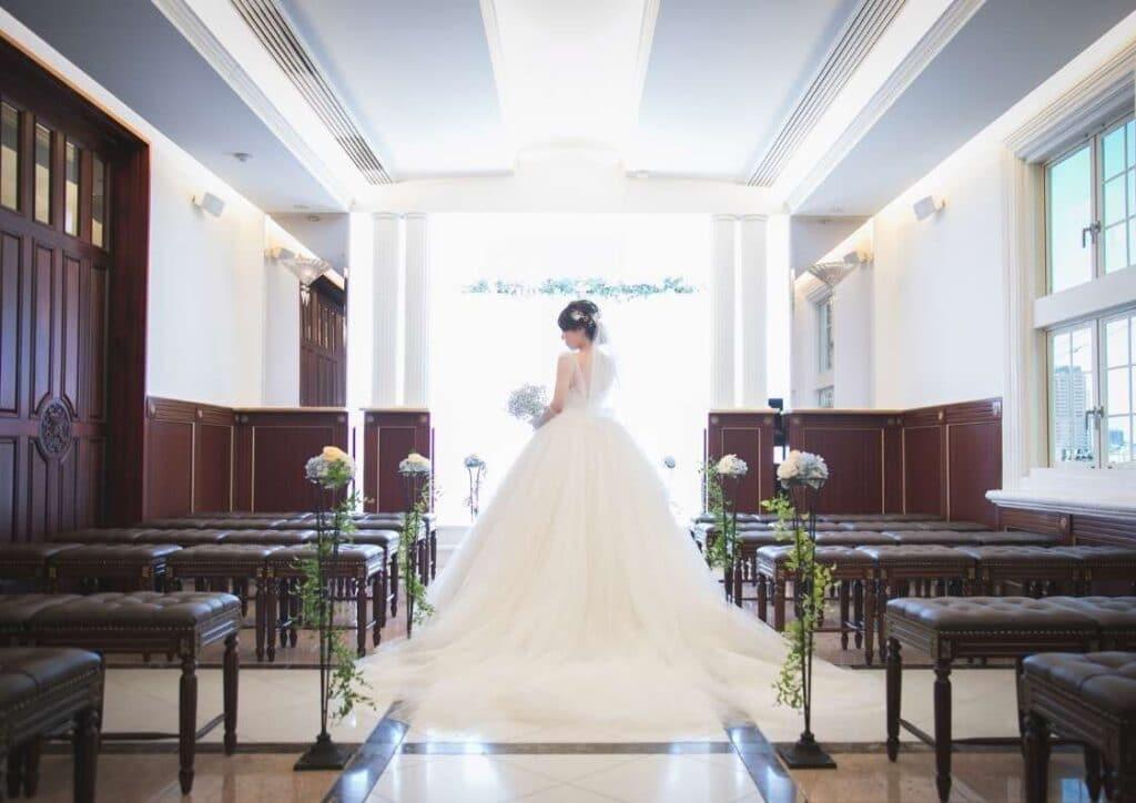 【チャペル写真】コロナの中での結婚式場の対応は?