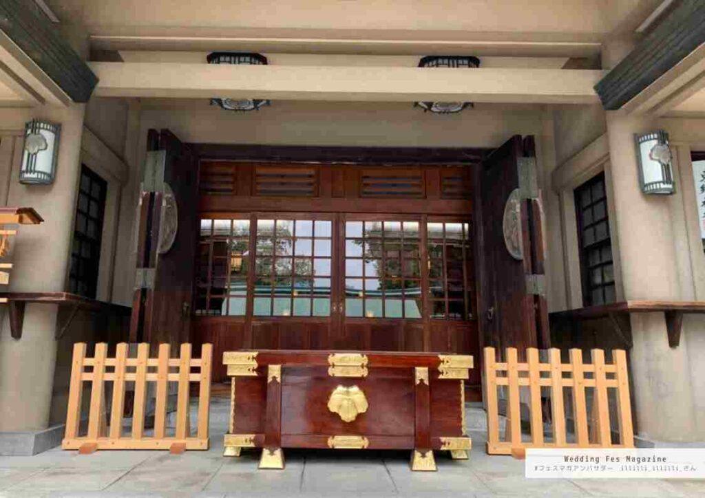 東京/神前式の結婚式会場探し!東郷神社・ルアール東郷で式場見学をした@illilli_illilli_さんの見学レポート