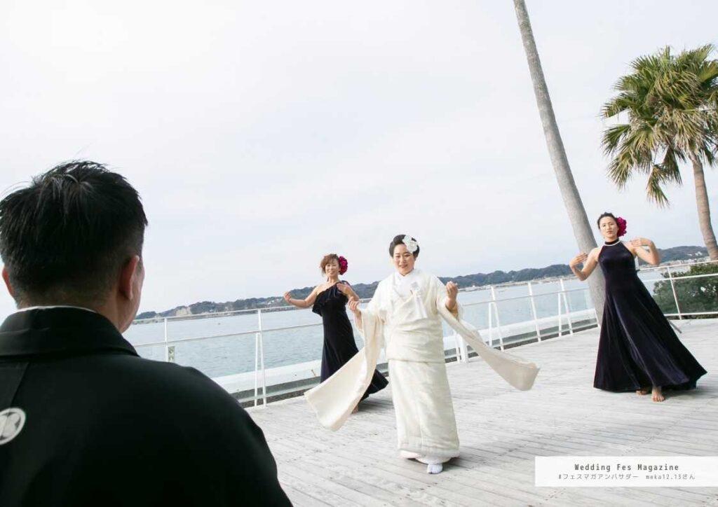 テーマは和×海!人とは被らない結婚式テーマをご紹介