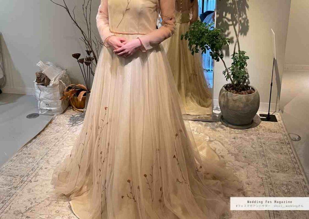 卒花が語る!私がオーダーメイドドレスを選んだ理由