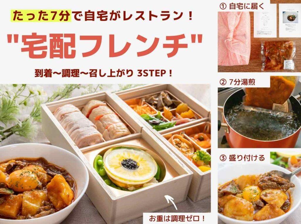 たった7分で自宅がレストランに!おうちでプロの味を楽しむ宅配フレンチの調理法