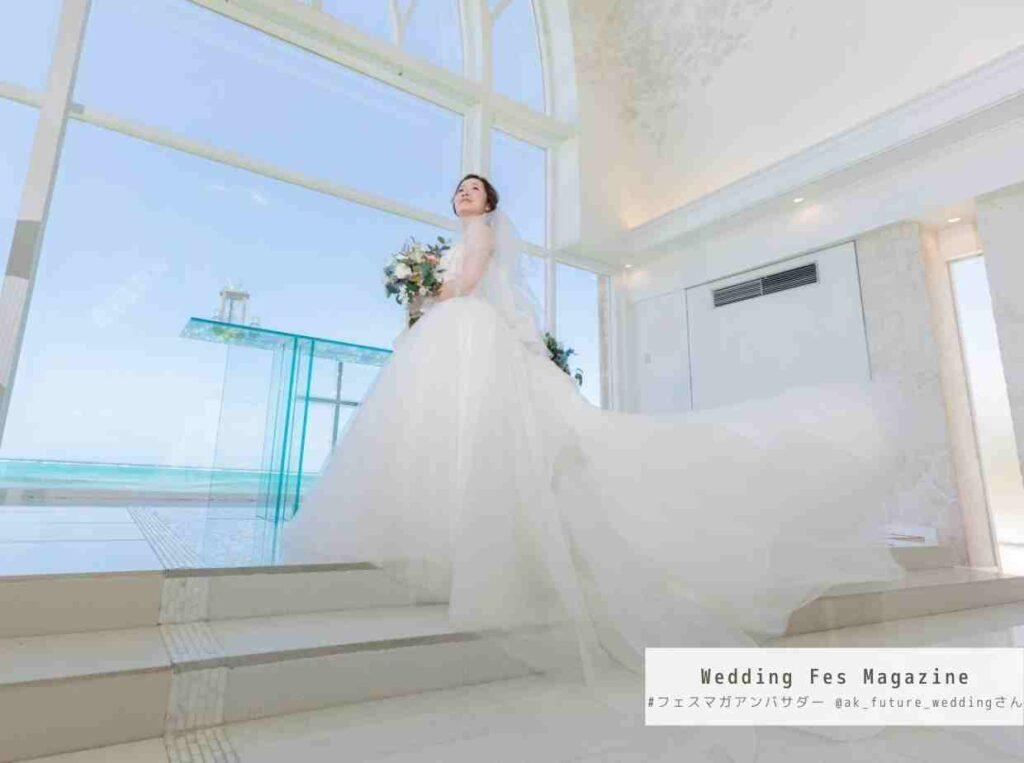 沖縄で国内リゾートウエディング アクアグレイス・チャペルの結婚式体験談